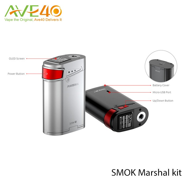 Smok maréchal g320 kit elektronik sigara cigarette électronique