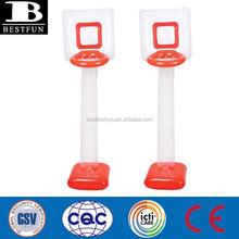 giant inflatable basketball net 6ft plastic basketball shooting hoops foldable basketball stand basketball goal inddor sports