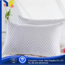 high quality 100% silk fashion cheap flocked filled pillow