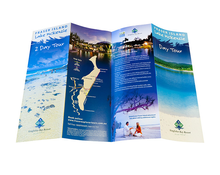 products fold instructions printing leaflet custom