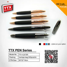 New promotional item ball point pen high quality metal ball pen