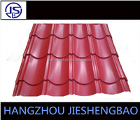 High Quality Colorful Archaize Glazed Tile Roofing Sheet