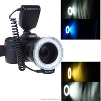 Digital Camera Accessory RF-550D Macro 48 LED Ring Flash Light for Canon