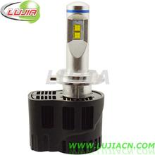 P6 car LED Headlight Lumileds 5200LM Per Bulb,12v H7 fog light led best selling 55w