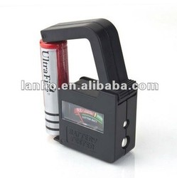 2013 NEW AA/AAA/C/D/9V/1.5V Universal Button Cell Battery Volt Tester Checker