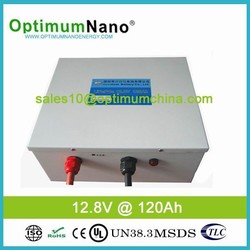 Eco-friendly lithium ion battery 12.8V 120Ah for Energy Storage