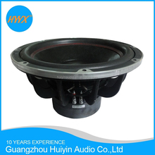 15 inch/38cm high end Car subwoofer , 1500 RMS