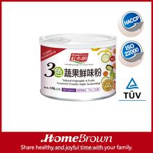 Natural Vegetable & fruits Gourmet Powder Triple Seasoning