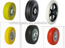 small pneumatic wheels