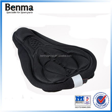 Universal silicone and sponge thickening colored road bike seat cover