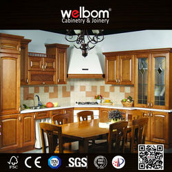2015 Welbom Advanced Technical American Kitchen Wood Cupboard Design