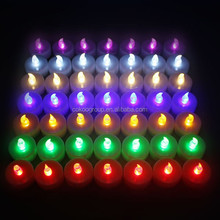 Outdoor wax led candle remote control