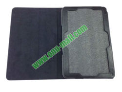 Litchi Lines leather case for acer iconia w510