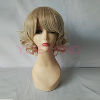 Fashion New Short Curly Bob Hairstyle Women's Wig