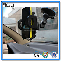 Universal hand free windshield mobile phone car holder for iphone, 360 degree rotating mobile phone car holder