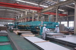 Decorative 430 Stainless Steel Sheet hairline Plate Surface 1250mm X 2500mm