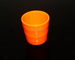 hot selling factory offer 100% melamine A5 grade colorful melamine mug melamine cup