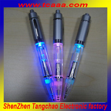 Novelty flashing pen led ballpoint pen