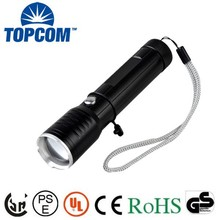 Function Of LED Torchlight Zoomable Powerful Rechargeable Torchlight