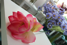 artificial wholesale water lily flower ,fake lotus made in china