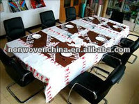 PP Nonwoven Fabric Table Cloth for one time used