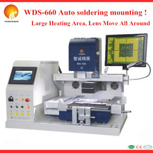 High Auto ! bga chip soldering and desoldering tools 2 in 1 Hot Air BGA Station with LED display module PCB