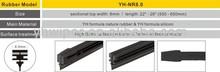 colorful silicon wiper blades rubber
