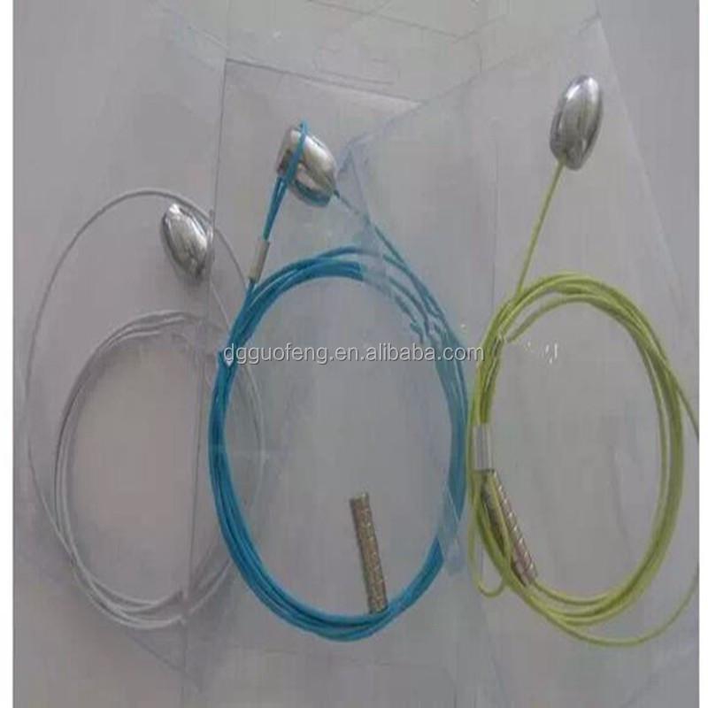 Bilderrahmen verzinktem stahl kabel mit magnet und schleife ...