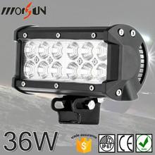 12V LED WORK BAR OFFROAD CAR LIGHT BAR, DOUBLE STACK 36WATT LED LIGHT BAR
