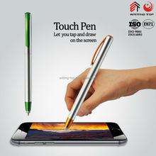 2015 silver promotion plastic pen