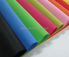 PET Non Woven plastic carry bag making machine raw materials