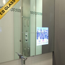 Wall mounted advertising mirror tv, hot sale Advertising TV Magic Mirror,EB GLASS BRAND