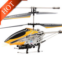 K7 3 CH 360 Degree Roll Metal Alloy RC Helicopter with Gyro