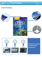 Blue Treasure 50 gallon pet product fish aquarium