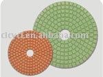 4 Inch Stone Granite Marble Wet Polishing Pads for Angle Grinder