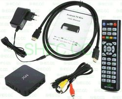 Tv Box amlogic 8726-mx android tv box with wifi full hd media network player