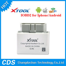 original xtool products IOBD2 interface scanner obd2 eobd2 wifi smart for Android and IOS