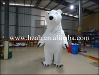 Advertising Inflatable Polar Bear Costume