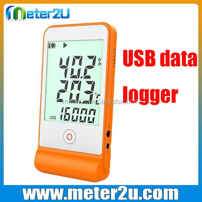 Chine température humidité data logger logiciel d'enregistrement de données
