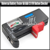 Universal Battery Tester AA AAA C D 9V Button Checker, YFT143A