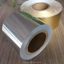 gold silver Aluminium Foil Paper For Cigarette cigar Packing