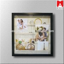 Imagen del diseño especial marco para múltiple fotos foto colgantes de bricolaje negro photo frames en línea