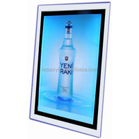Crystal Ultra Slim Acrylic LED Light Box