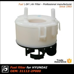 Fuel filter used in car