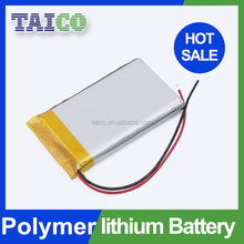 Clean energy Li-polymer battery 3.7v with 230mah for Digital camera