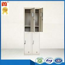 4 doors metal wardrobe steel locker with professional design
