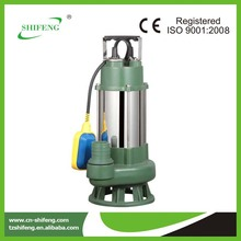 Stainless steel submersible sewage centrifugal pump