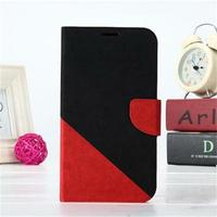 2013 Collision Color design grain dormancy smart leather case holsters for mobiles for Samsung Galaxy Note 2 N7100