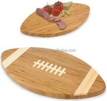 Unique design custom bamboo cutting board bread board