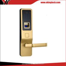 Contemporary Designed door handle lock fingerprint